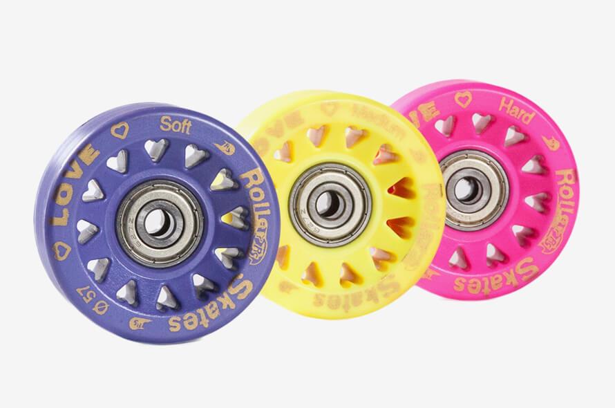 RollerSkates: ruote e cuscinetti per pattini per pattinaggio artistico